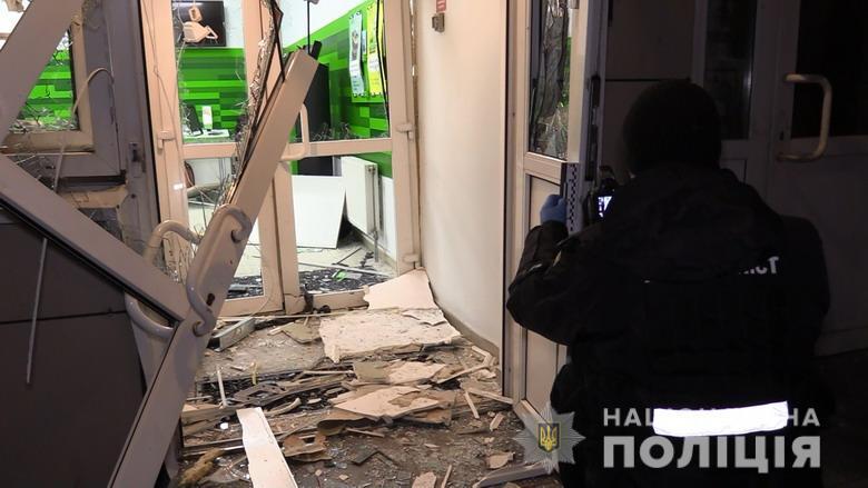 В результате взрыва никто не пострадал / фото Нацполиция