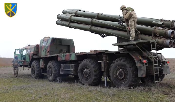 Воины-ракетчики отрабатывали элементы подготовки к нанесению ракетных ударов \ скриншот с видео