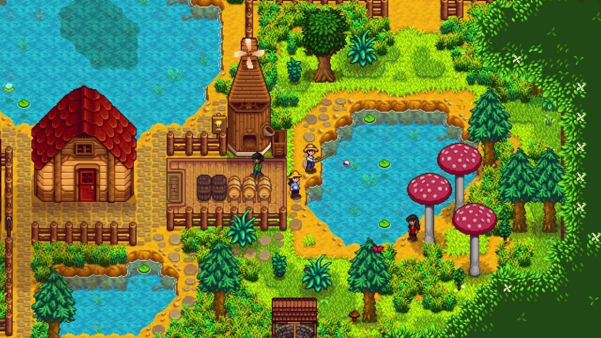 Так выглядит Stardew Valley / фото nintendo.com