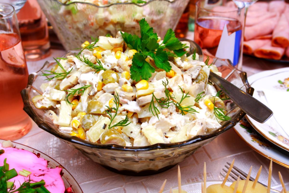 Картофельный салат - рецепт / фото ua.depositphotos.com