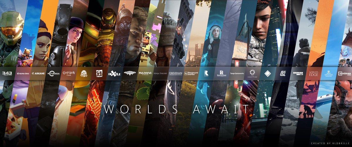 Все игры студий Microsoft после покупки издательстваBethesda / фото klobrille