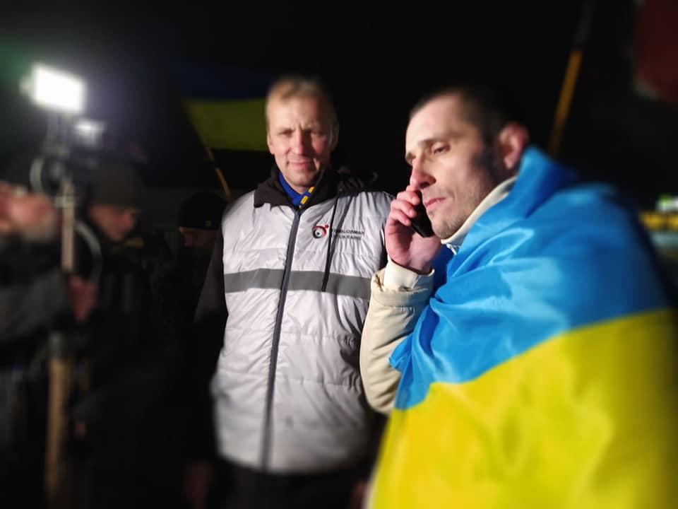 Шумков рассказал о трудностях, которые у него возникли в Украине после освобождения/ фото facebook.com/denisovaombudsman