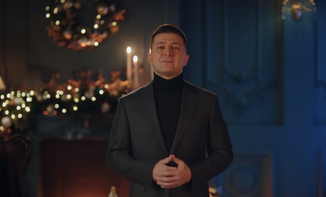 Zelensky greets Christians of Western rite / Screenshot from the video