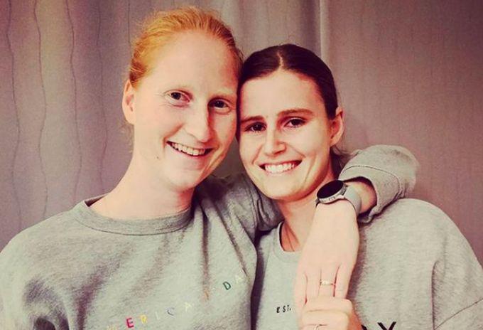 Алисон ван Эйтванк и Греетье Миннен вместе с 2018 года / фото instagram.com/greetjeminnen