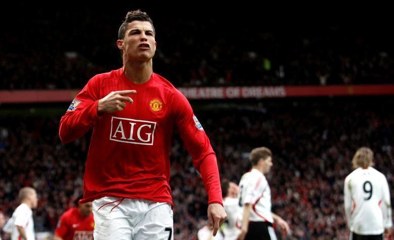 Криштиану Роналду в Манчестер Юнайтед / фото REUTERS
