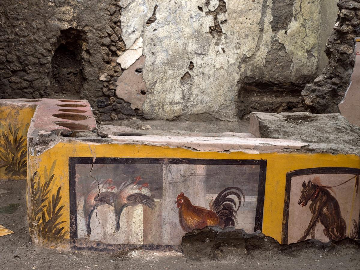 В Помпеях нашли древний фастфуд/ Facebook - Pompeii - Parco Archeologico
