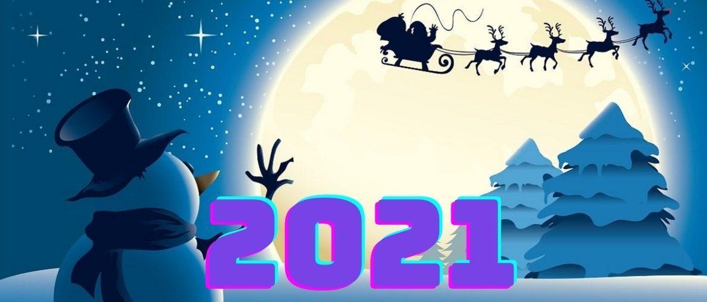 Открытки с Новым 2021-м годом / joy-pup.com