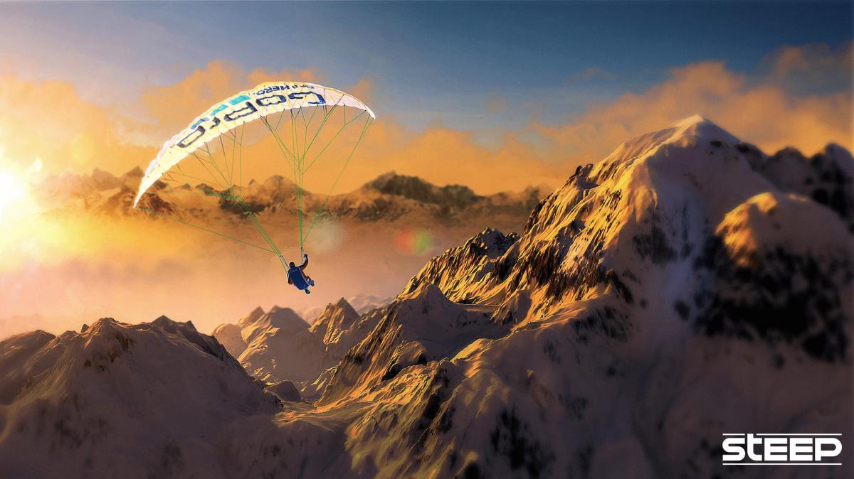 Покорять горные вершины можно и в Steep /фото Ubisoft