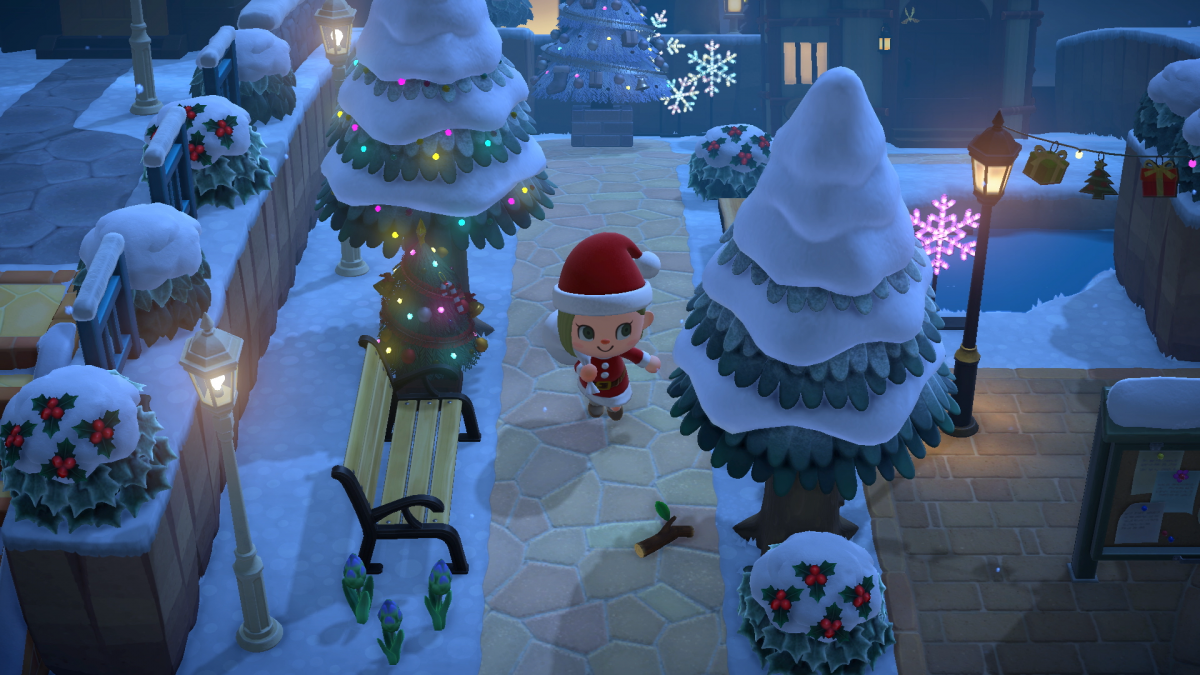 Animal Crossing: New Horizons можно играть на Nintendo Switch /скриншот