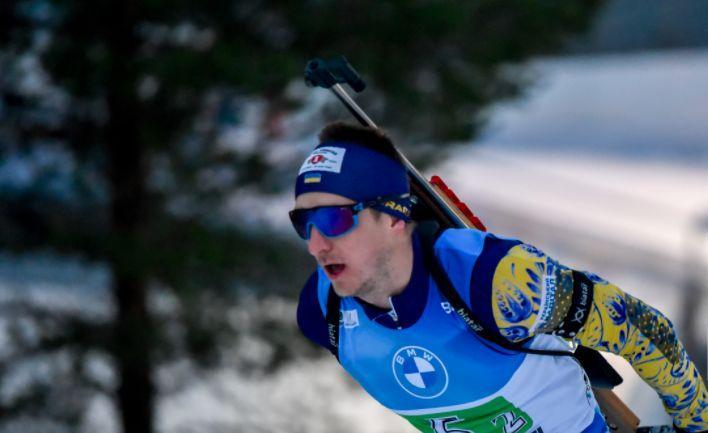 Дмитрий Пидручный выступал за Украину / фото biathlon.com.ua