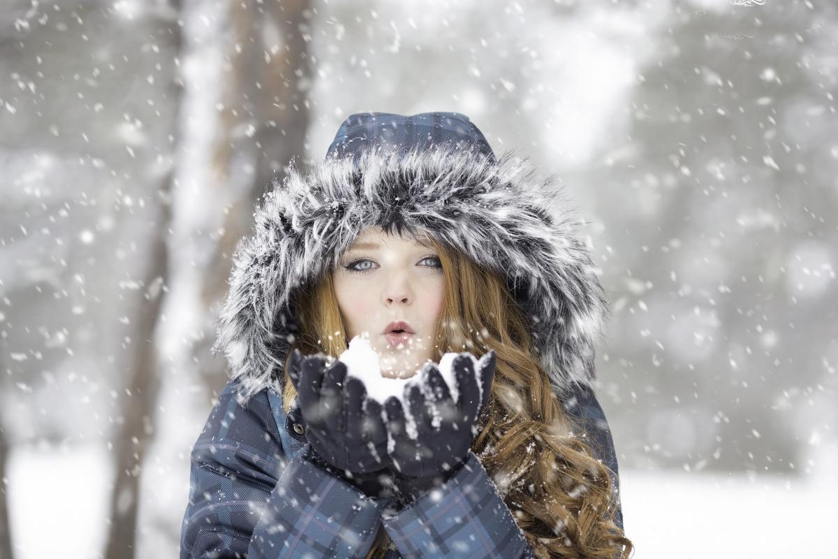 В феврале ожидается несколько снежных дней / фото pixabay.com