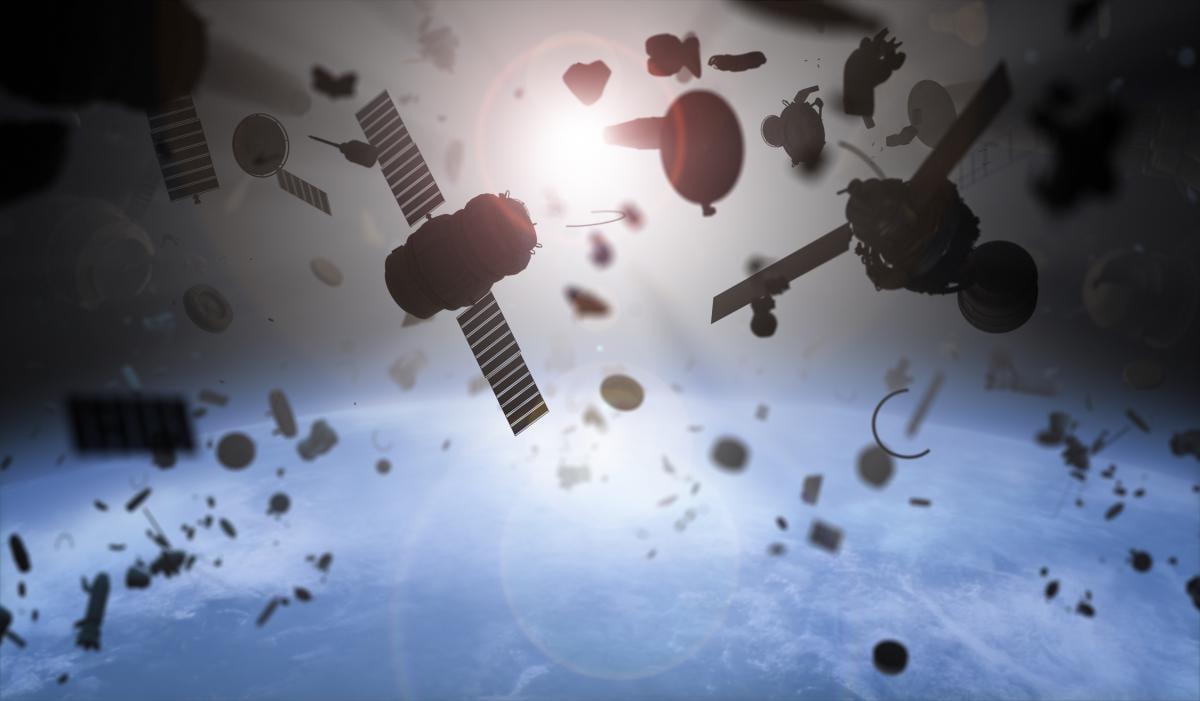 Кількість космічного сміття на орбіті може збільшитися в 50 разів / фото ua.depositphotos.com