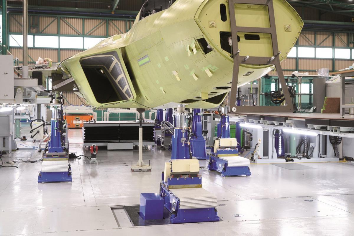 Первые летные испытания запланированы на 2022 год / фото Korea Aerospace Industries