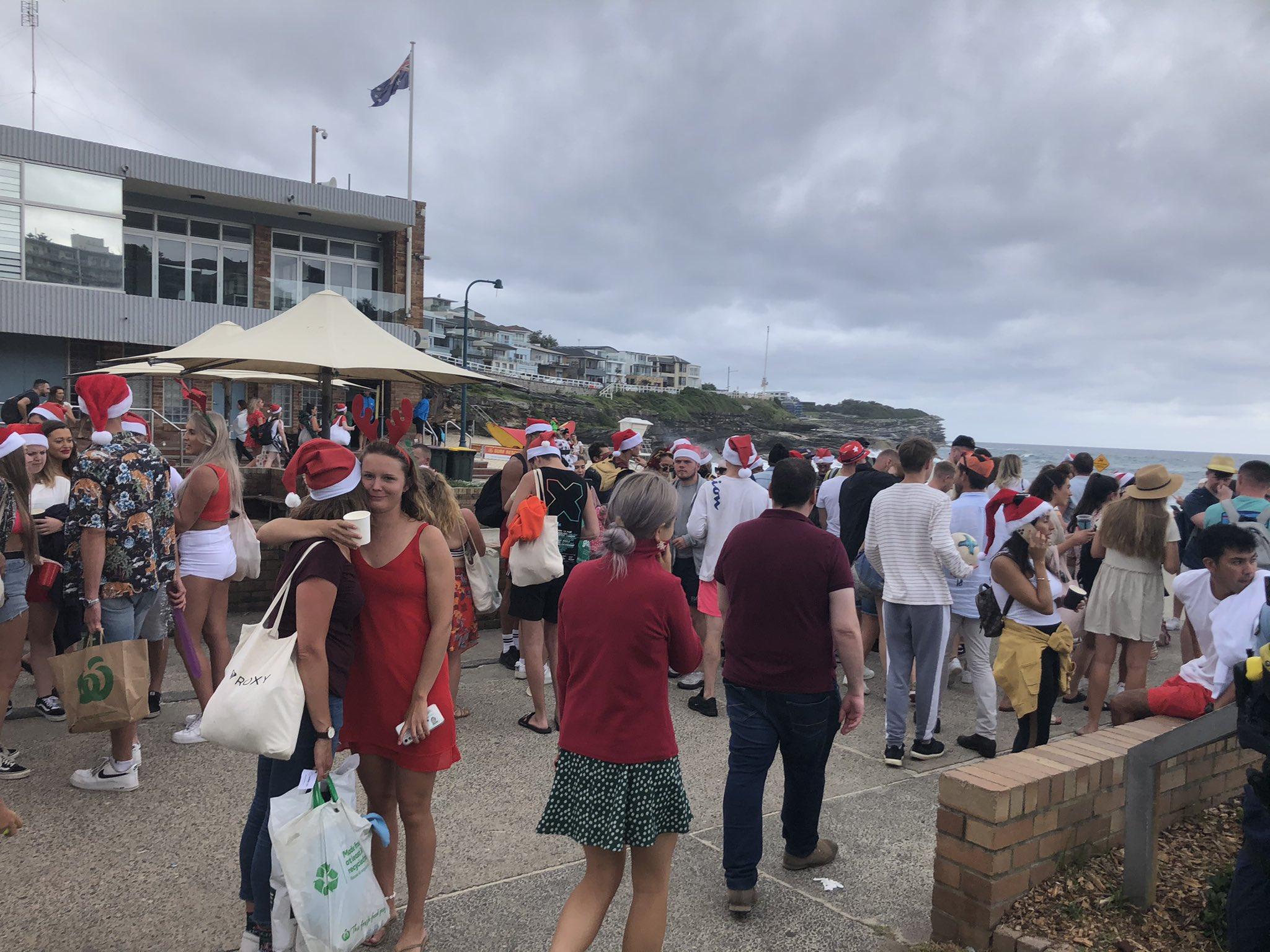 Вечеринка в Австралии - туристы разгневали жителей вызывающим поведением / twitter.com/p_hannam