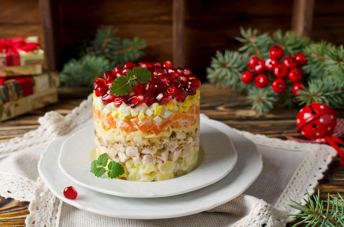 Рецепты салатов на рождественский стол / фото ua.depositphotos.com