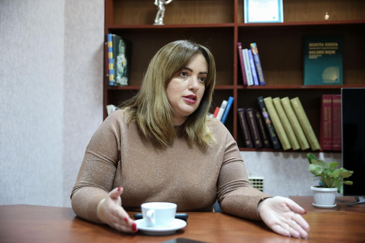 Заступник голови Комітету ВР з питань бюджету Леся Забуранна / фото УНІАН