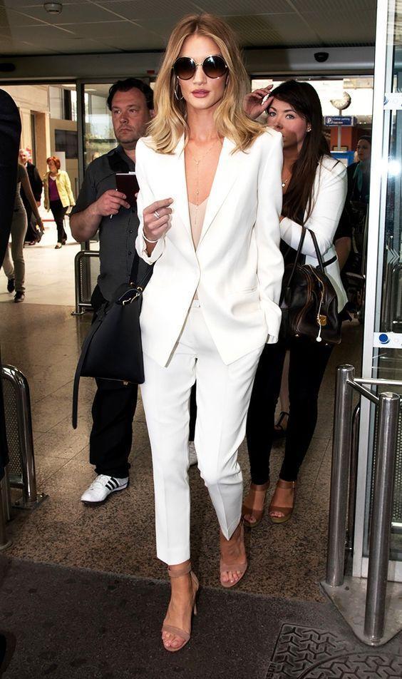 Белый костюм / pinterest.com