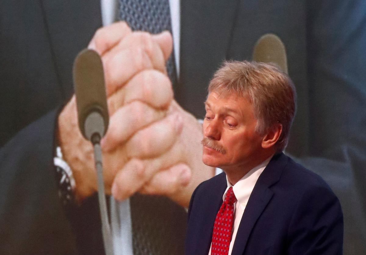 """Peskov again mentioned the """"brotherly peoples"""" / photo REUTERS"""