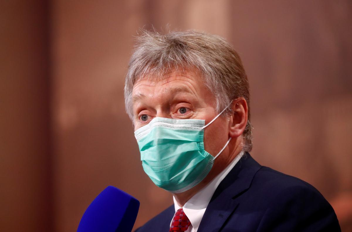 По словам Пескова, Украина превратилась в проект западных стран / фото REUTERS