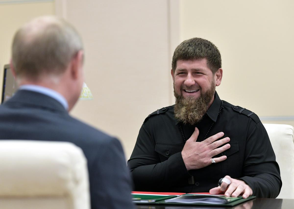 Кадыров рассказал о фото с Уруским / REUTERS