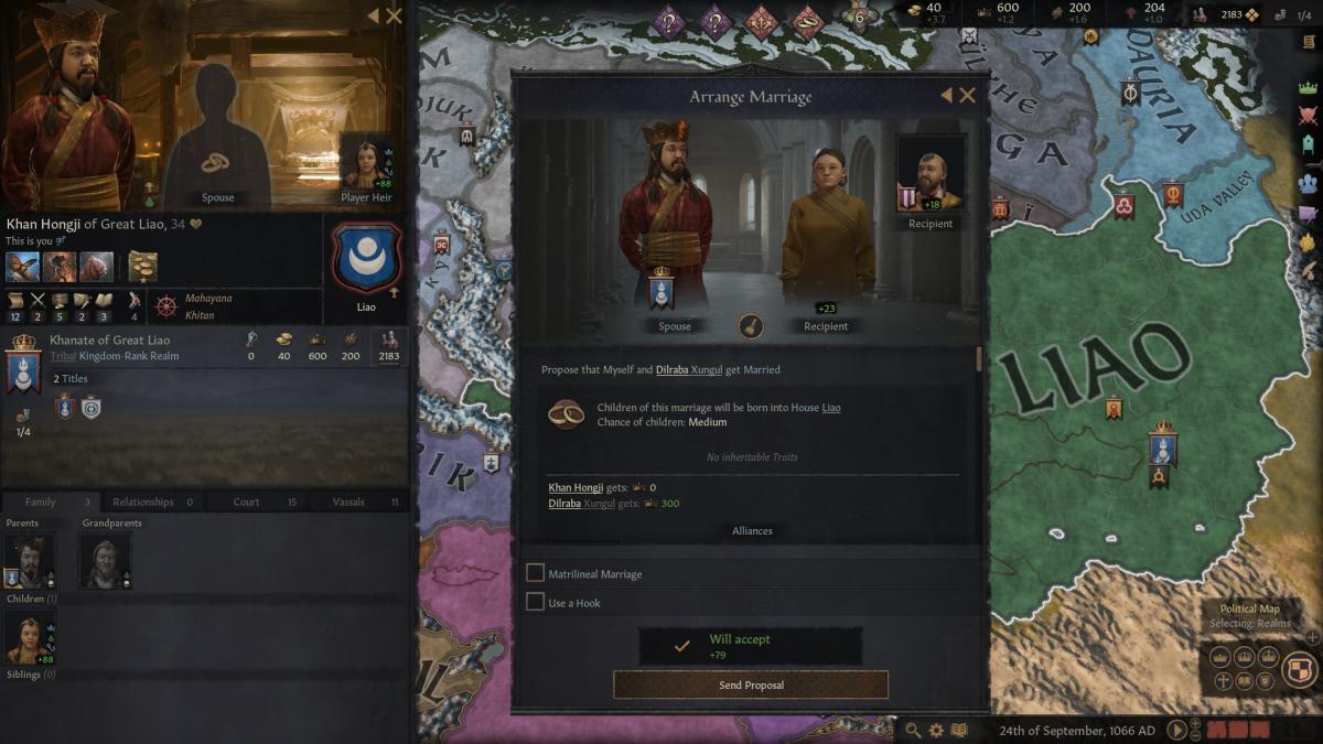 Crusader Kings III /фото Paradox Interactive