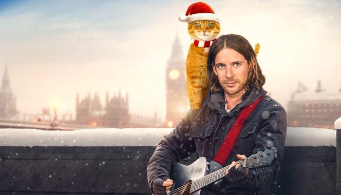 Кадр из фильма «Рождество кота Боба» / фото kino-teatr.ua