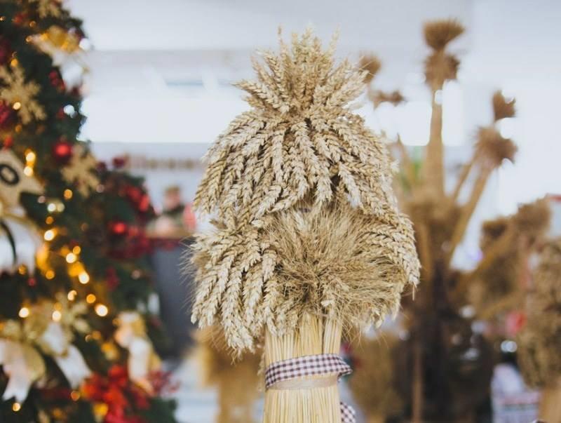 Дідух на Різдво / фото 3849.com.ua