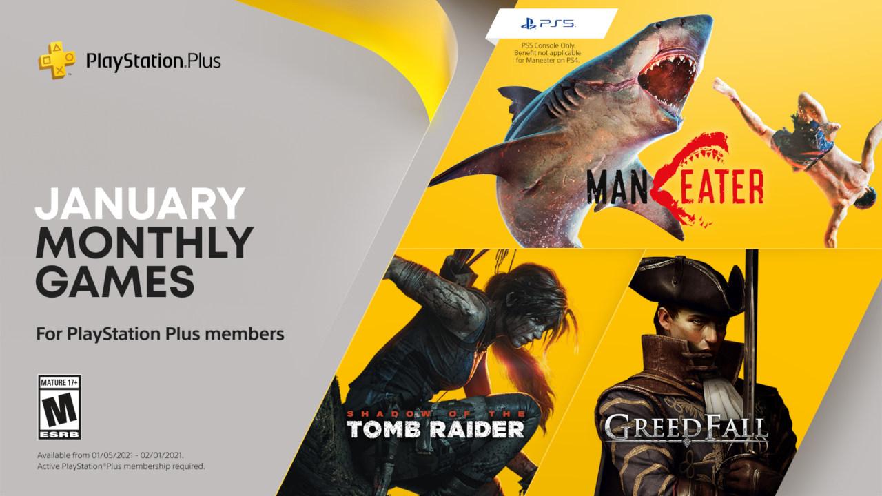 Январская подборка бесплатных игр для подписчиков PS Plus / фото playstation.com
