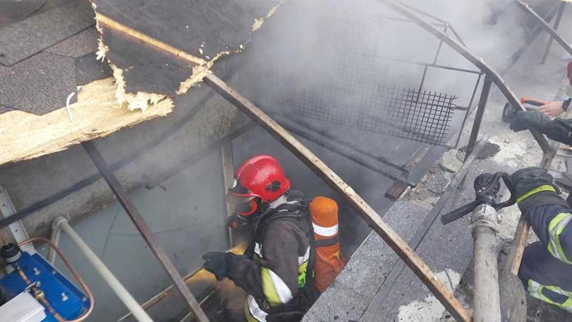 В результате пожара обошлось без жертв / фото пресс-служба ГСЧС в Ривненской области