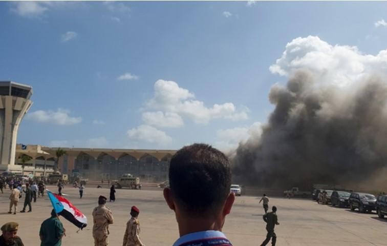 Однимиз погибших был гражданином Йемена/ фотоtwitter.com/Quicktake