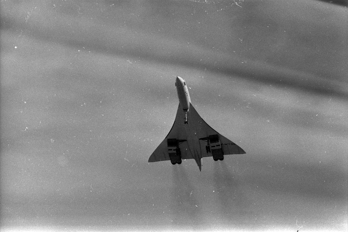 С 1976 года начались постоянные полеты самолетов «Конкорд» / wikipedia.org, André Cros