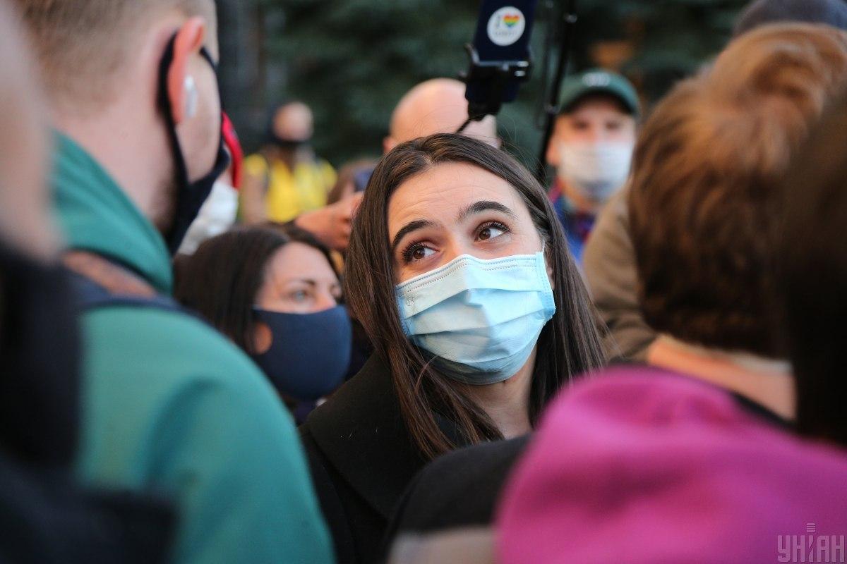 Мендель рассказала, как и когда переболела коронавирусом / фото УНИАН, Виктор Ковальчук