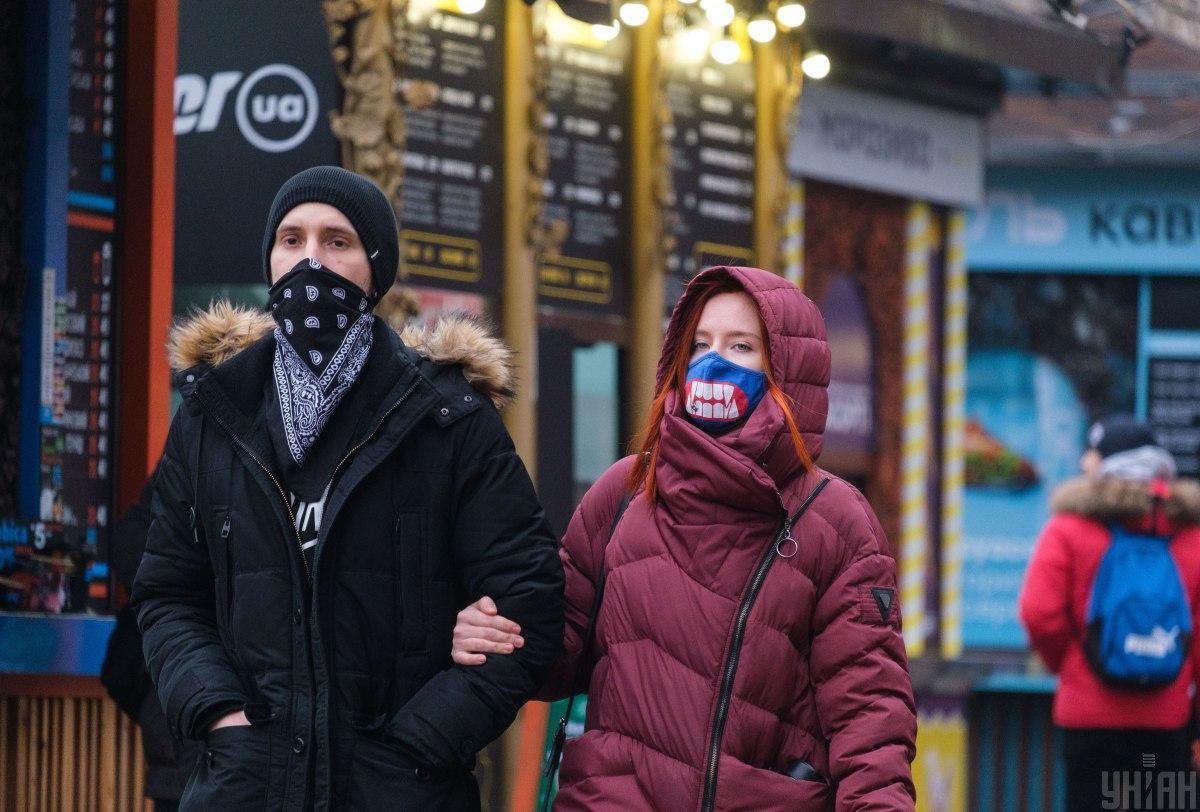 Третья волна коронавируса в Украине / фото УНИАН