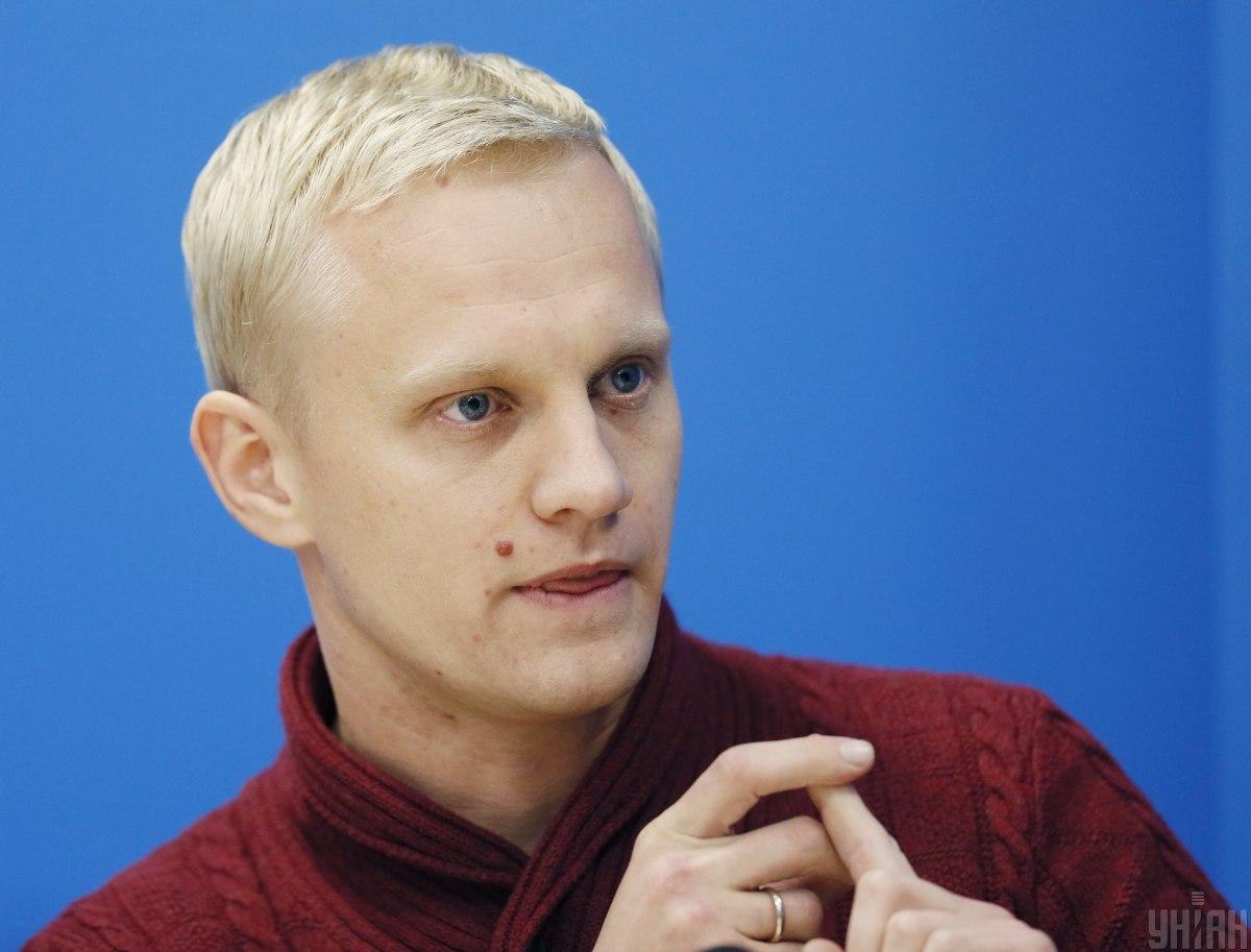 Шабунин - активисту хотят предложить меры безопасности после подброшенных гранат / Фото УНИАН, Владимир Гонтарь