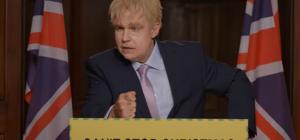 Робби Уильямс появился в образе Бориса Джонсона в клипе на песню Can't Stop Christmas