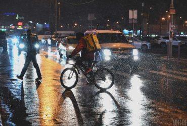 К вечеру в Киеве усилится снегопад