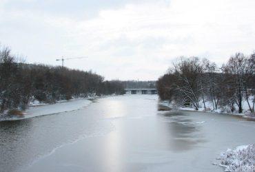На Львівщині ріка Західний Буг вийшла з берегів (відео)