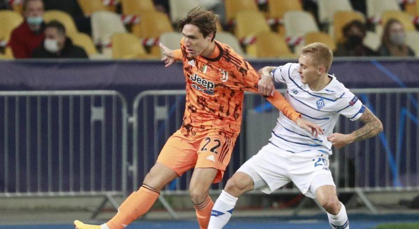 Ювентус - Динамо: онлайн-трансляция матча Лиги чемпионов