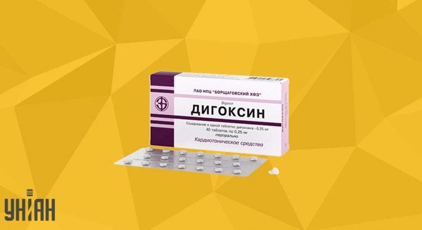 Дигоксин таблетки фото упаковки