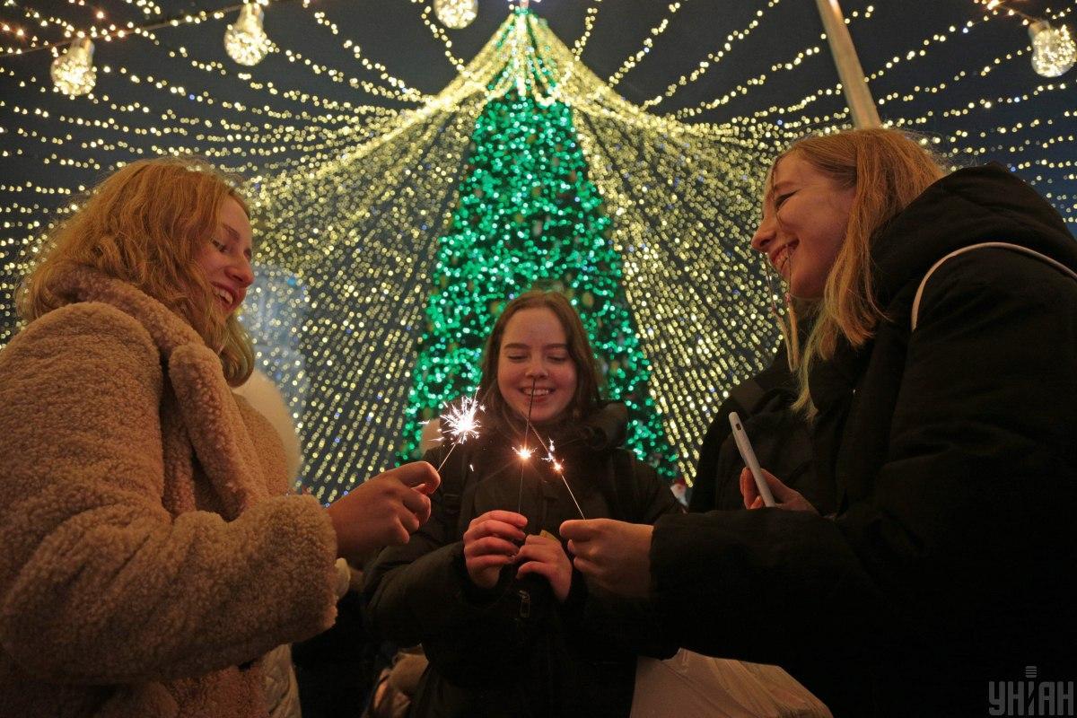 Українці із оптимізмом дивляться у новий рік / фото УНІАН