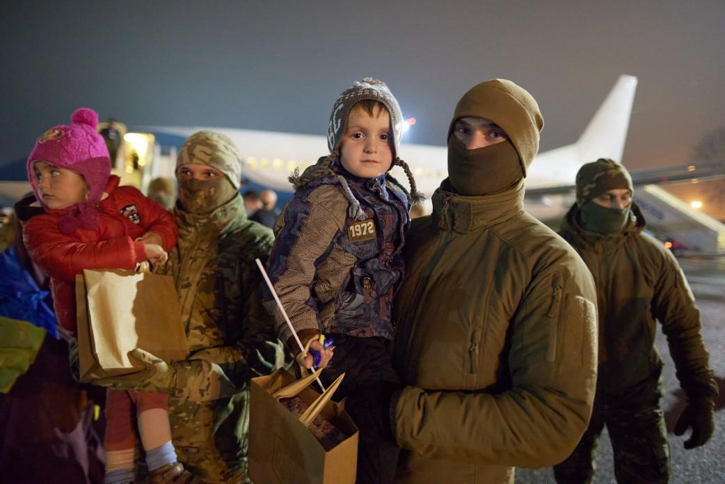 Возвращение украинцев из Сирии / фото president.gov.ua