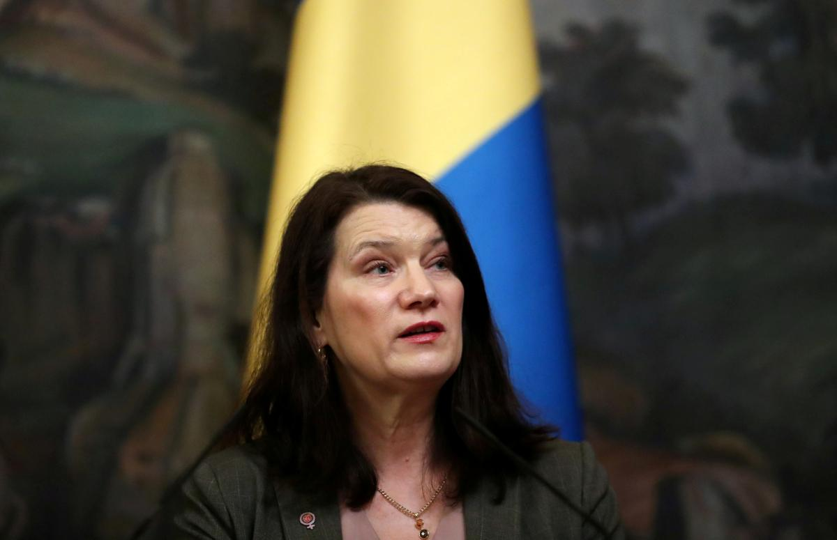 Ann Linde, Sweden's Foreign Minister and the new OSCE Chairperson-in-Office / Photo from REUTERS