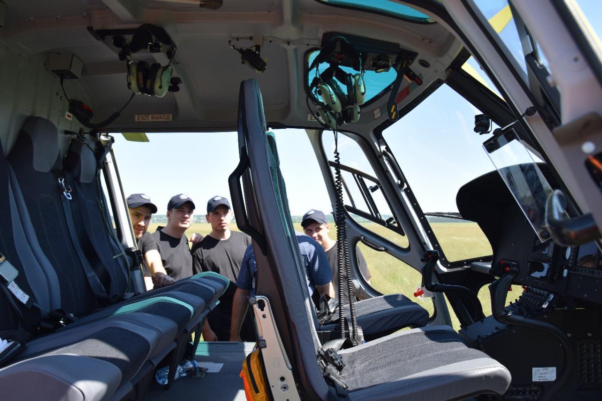 Airbus Н125 - Украина ожидает поставку еще 10 современных вертолетов для мониторинга границы / dpsu.gov.ua
