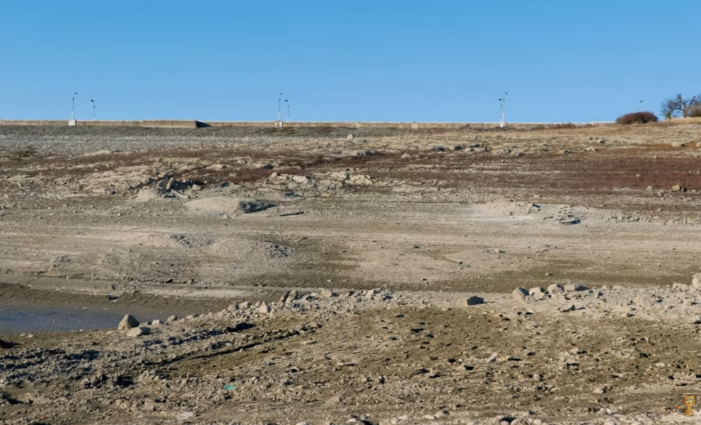Simferopol water reservoir dries out / Crmean Blogger