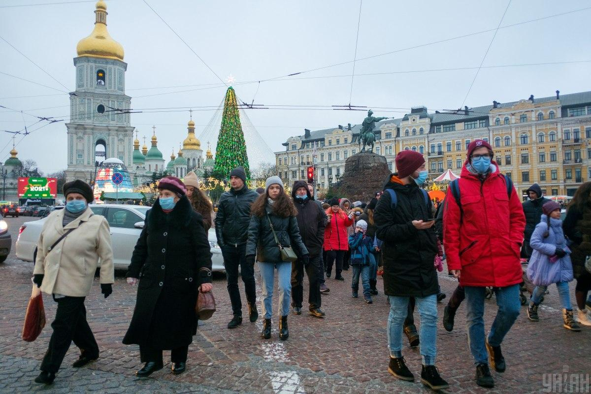 The holiday season is expected to affect COVID-19 statistics / Photo from UNIAN