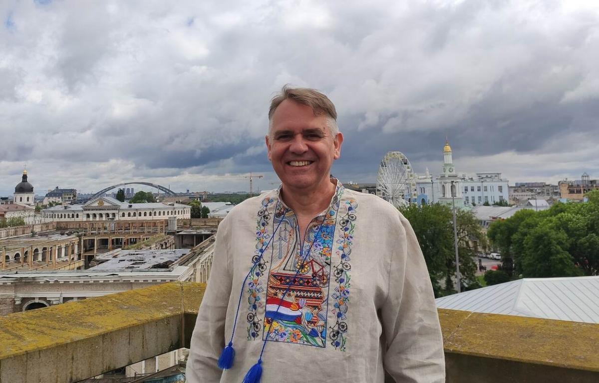 Єннес де Мол поділився своїми враженнями про Україну / фото netherlandsandyou.nl