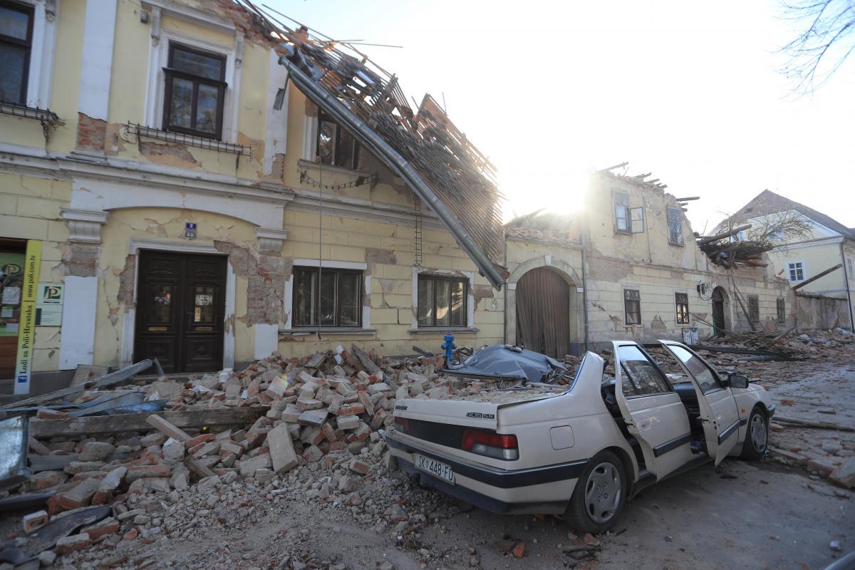 Украина окажет гумпомощь Хорватии, пострадавшей в результате землетрясения / фото REUTERS