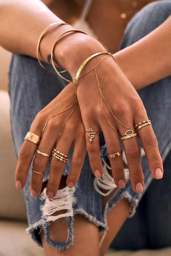 Кольца на фаланги / pinterest.com