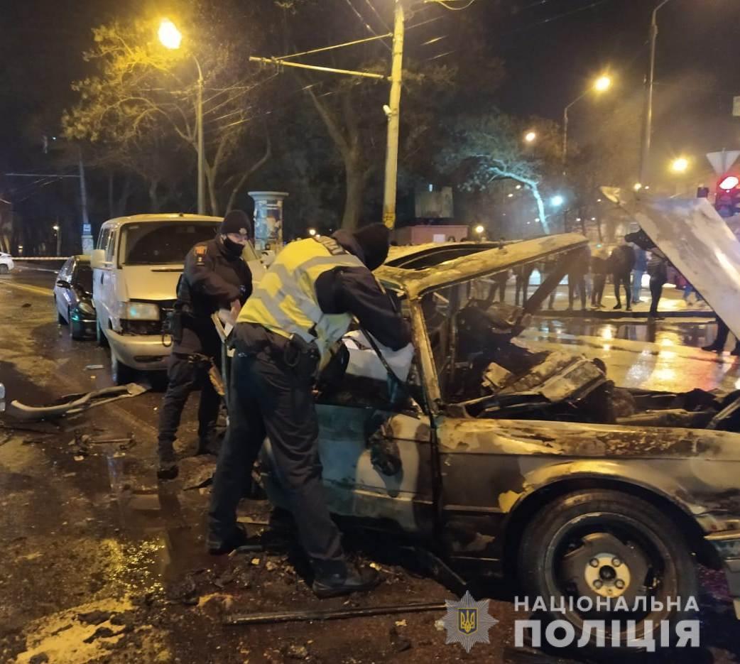В Одесі сталася смертельна ДТП фото od.npu.gov.ua
