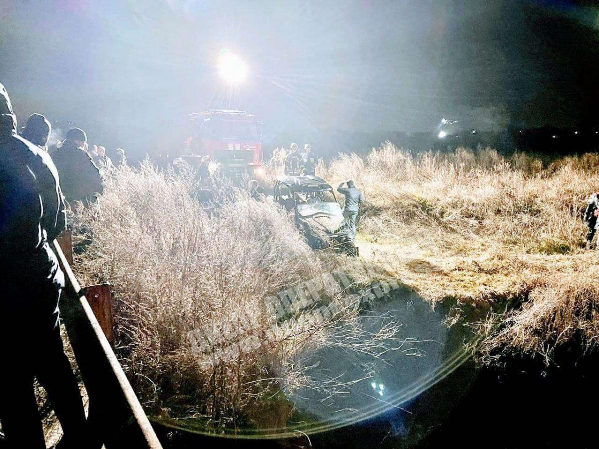 Korban's son dies in the accident / Photo from dnepr-express